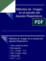 4.1 Métodos de imagen en el estudio de Aparato Respiratorio