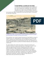 Historias Del Viejo Madrid. La Pradera de San Isidro