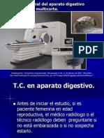 6.4 Imagen Seccional Del Aparato Digestivo Por TC.