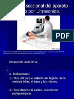 6.6 Anatomía seccional del aparato digestivo por ultrasonido.