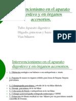 6.8 Intervencionismo en Aparato Digestivo