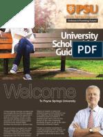 Payne Springs University – Your Centre for Academic Development