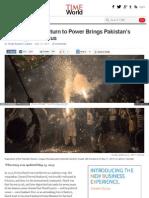 Nawaz Sharif Returns to Power