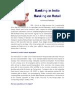 Banking in India, Retail banking