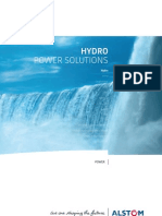 Hydro Power Solutions Alstom 2012