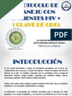 Protocolo Para El Manejo Del Paciente Con VIH POSITIVO CORREGIDO (1)