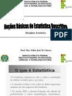 001- Noções Básicas de Estatística