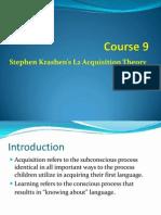 Course 9 Krashen Sla Hypotheses 1