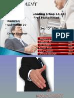 Leading (managment)