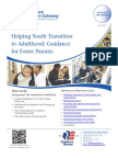 Helping Youth Transition to Adulthood