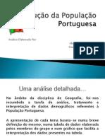 Evolução da População Portuguesa