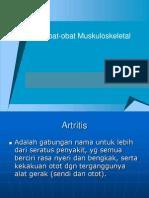 Obat-obat Muskuloskeletal