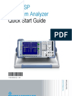 Spectrum Analyser Qs
