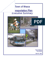 Town of Ithaca, New York Transportation Plan, prepared by Town Board, April 2007