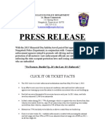 NPD Press Release - COT 5.15.13