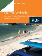 QM1711-1110 Motor Vehicle Policy