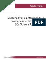 ManagingSystemzSOAenvironments SoftwareStrategies WP