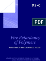 M Le Bras, C Wilkie, S Bourbigot-Fire Retardancy of Polymers New Applications of Mineral Fillers-Royal Society of Chemistry(2005)