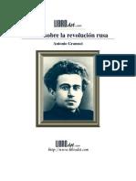 Revolución Rusa (Antonio Gramsci)