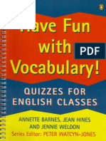 Have Fun With Vocabulary