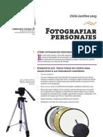 Fotografiar Personajes - 2013