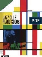 Jazz Club Piano Solos Vol.1