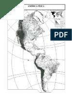 12 Amerikako Mapa Fisiko Mutua