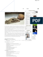 Extraterrestre mumificado