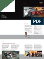 Audi Sport Le Mans Brochure 2006