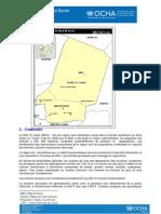 TCHAD - Profil régional Bande Sahélienne Septembre 2011