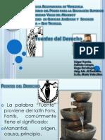 Fuentes Del Derecho Diapositiva