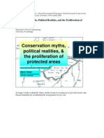 Conservation Myths, Political Realities, and the Proliferation of Protected Areas
