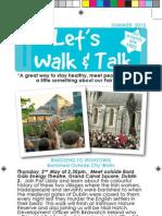 Lets Walk and Talk Summer 2013