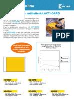 Teli Da Incisione Iodati Con Antibatterico- Iodoforo