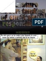 ISKCON desire tree - Immature Understanding Of Social Responsibility