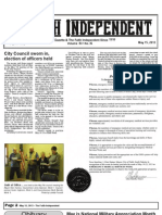 Faith Independent, May 15, 2013