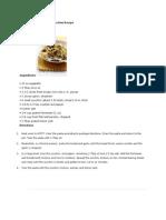Spaghetti With Roasted Zucchini Recipe