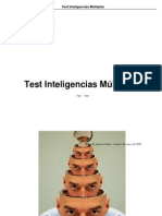 Test Inteligencia Multiple