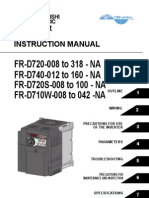 Mitsubishi D700 Variable Frequency Drive Instruction Manual