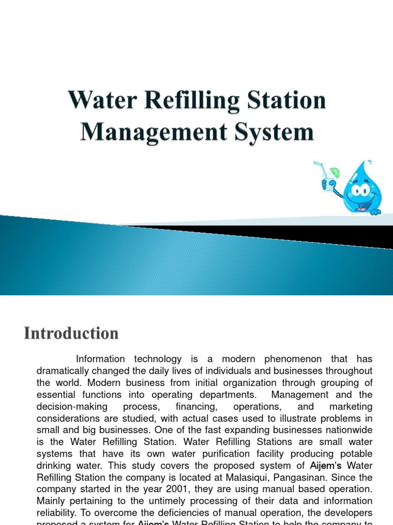 related literature on water refilling station Free essays on foreign related literature about water refilling station get help with your writing 1 through 30.