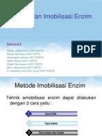 Inhibisi Dan Imobilisasi Enzim