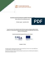 Cercetare Participarea Publica in Romania-CeRe - 2012