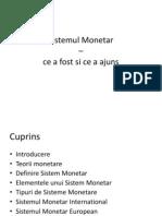 Sistemul Monetar