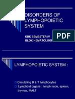Lymphopoietic System-kbk Blok Hematologi