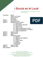Juegos Scouts en El Local Gilcraft