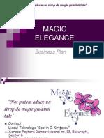 MAGIC ELEGANCE Plan de Afacere 2013