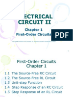 Chapter 1 Slide 1st Order Circuit
