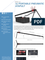 6kJ Portable Pneumatic Catapult Datasheet V2 0