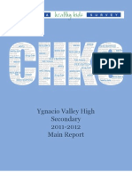 Ygnacio Valley S3 Secondary Report