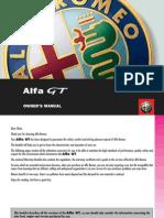 Alfa Romeo Gt Manual. Full manual.